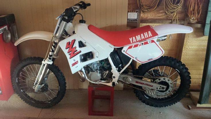 Restored 1989 Yamaha Yz250