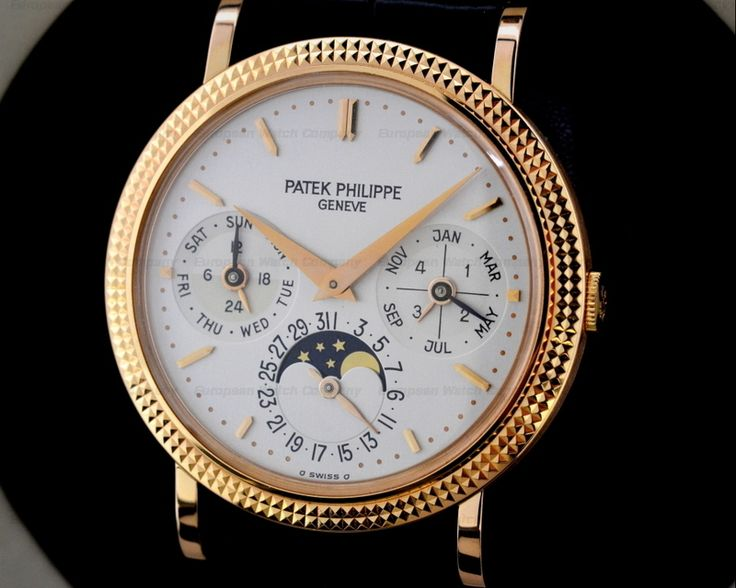 Perpetual Calendar Art Deco : Just in  r patek philippe perpetual