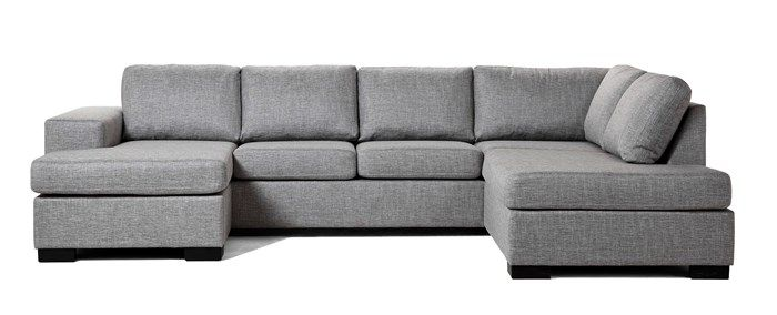 Produktbild - Nevada, 3-sits soffa med schäslong vänster och divan höger
