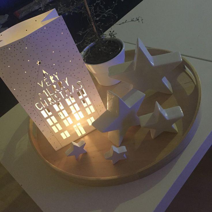 Stars and candles  #stars #sterne #dekoration #decoration #interior #details #interiordetails #living #inspiration #ikea #raeder #räder #kerzenzeit #christmas #weihnachten