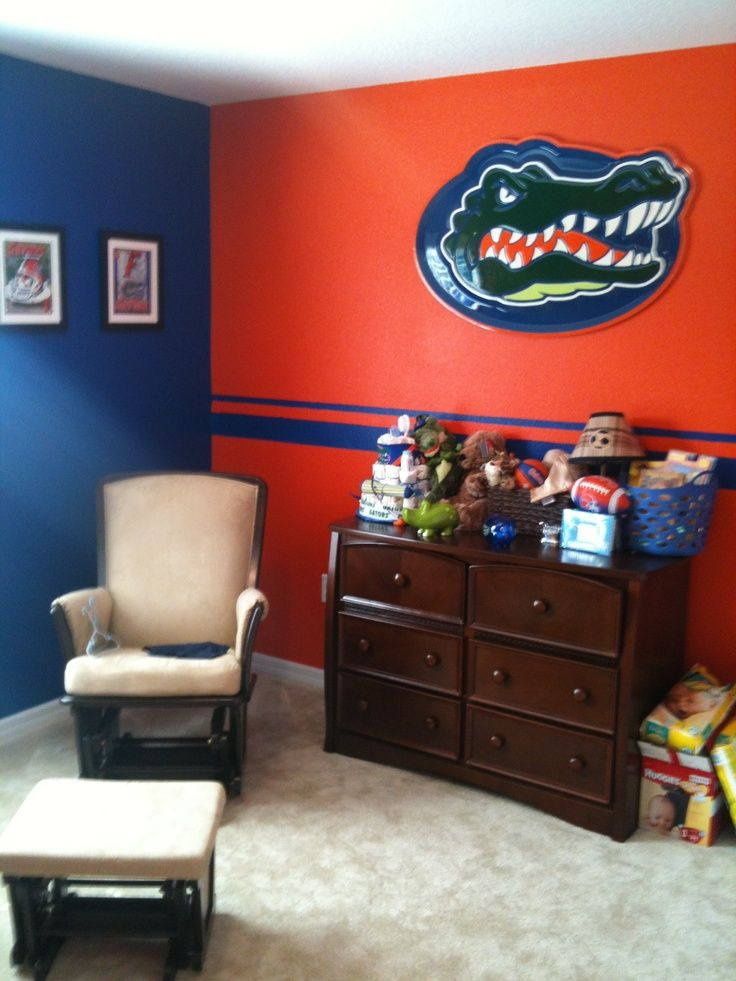 Florida Gators Room Ideas | Baby Gator Bedroom