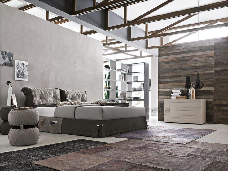 AMAMI Мягкая кровать Tomasella | Mebital