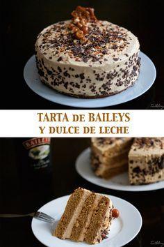 ^^ Tarta de Bailays y dulce de leche Pinterest | https://pinterest.com/easyperfectrecipe/