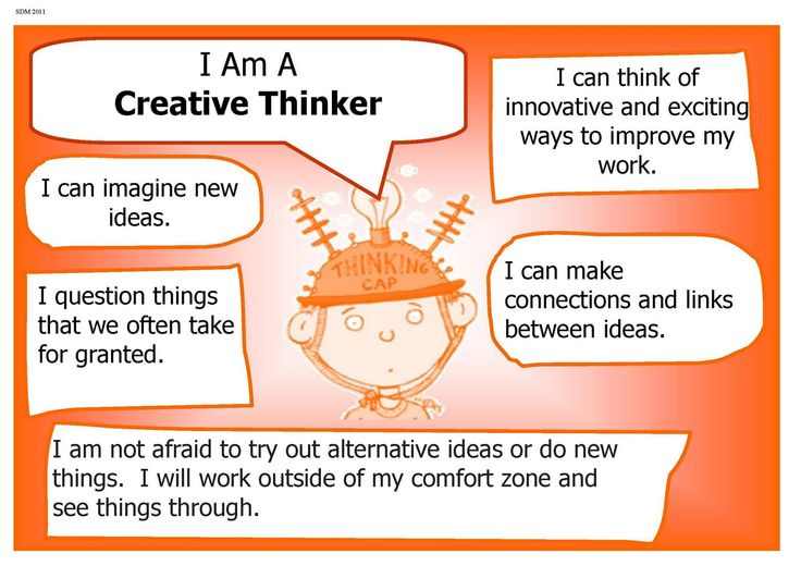 I am a Creative thinker!