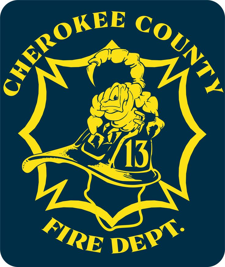 Cherokee county fire station 13 sticker by
