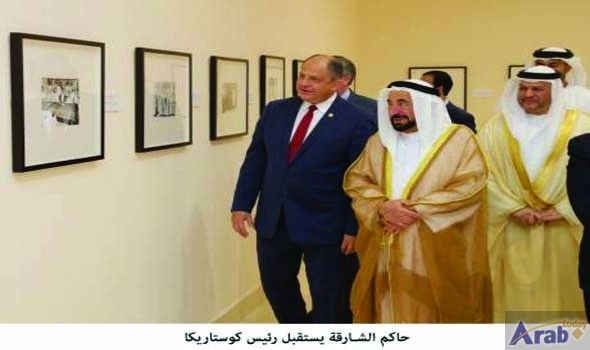 Sultan receives President of Costa Rica
