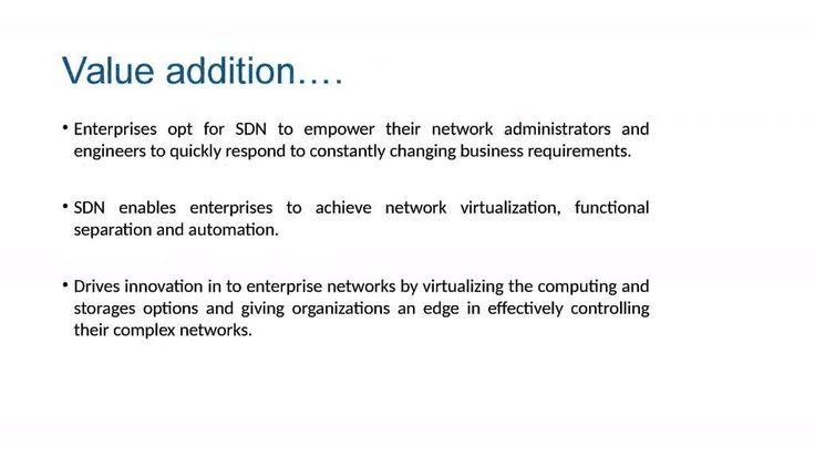 Software Defined Networking, SDN is an innovative paradigm in computer networking that separates network logic control from off-device computer resources such as physical routers and switches.