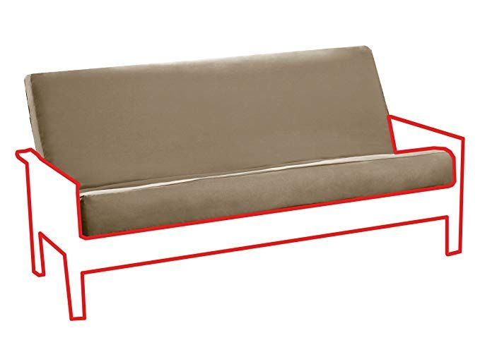 Royal Sleep Products Futon Cover With 3