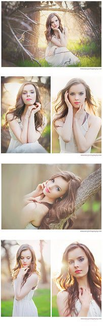 Emilyblog by Skai Photography, via   Flickr--overly posed for my taste, but some nice shapes to the   poses!