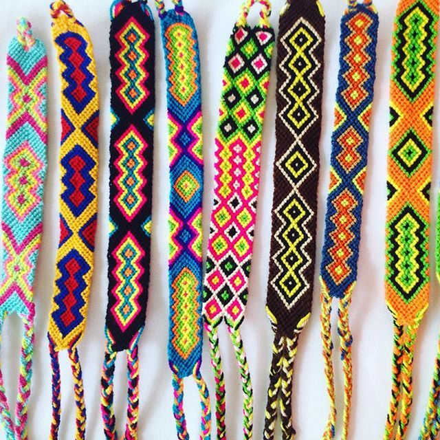 Wayuu Bracelets From A Single Thread Are Handmade And Make Beautiful Addition To Dress Up Any Outfit Pick Yours For Only 10 Find More Ba