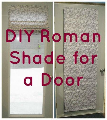 easy diy roman shade