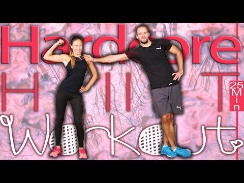 HIIT Workout für Zuhause - 25 Min Fatburner Training ohne Geräte - Fett effektiv verbrennen - YouTube
