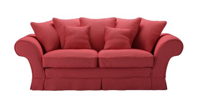 Whistler Sofa in coral; sofa.com