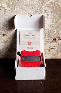 Viewmaster Invitation | 16 Alternative Wedding Invitations And Save The Dates | buzzfeed.com