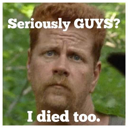 So many great TWD season 7 episode 1 memes! Aww, Abe <3