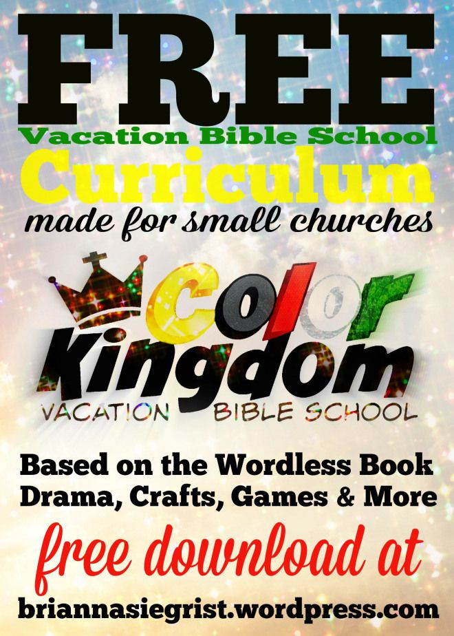 Free Vacation Bible School Curriculum!