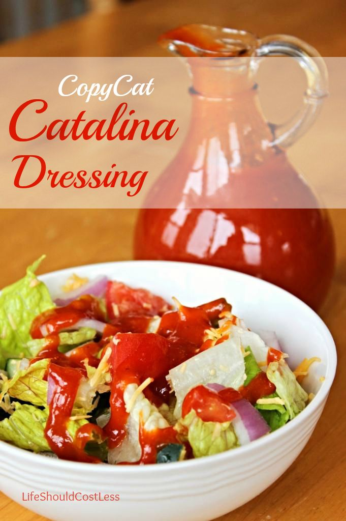 CopyCat Catalina Dressing. It's super tasty and much better for you!