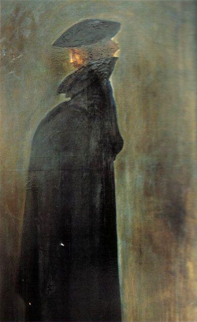 Gustaw Gwozdecki - Portrait of Bolesław Biegas