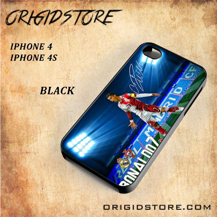Real Madrid Cristiano Ronaldo CR7 Transfrom For Iphone 4/4S Snap On and 3D Case