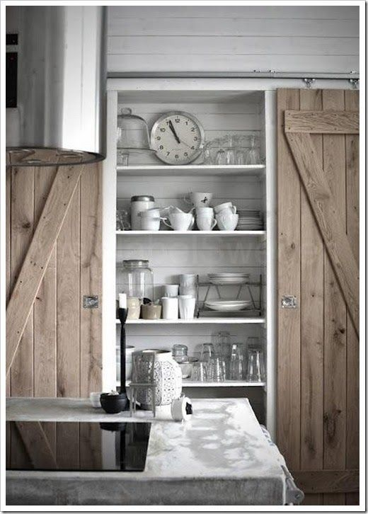 1000 images about modern sliding doors on pinterest for Pantry barn door hardware