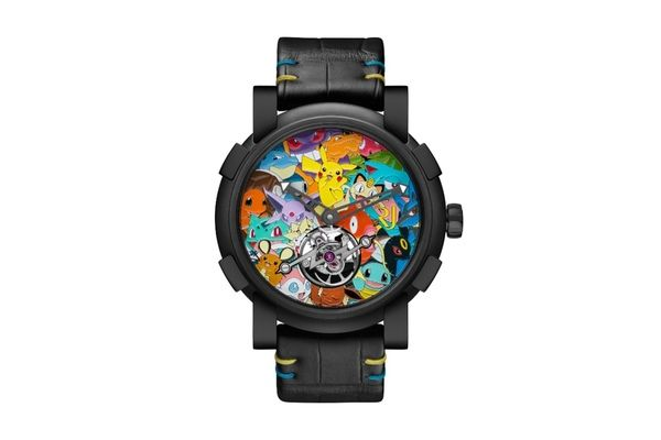 Luxury watchmaker releases Pokemon watch for nearly $260k   - comes from luxury Swiss watchmakers RJ-Romain Jerome - watch costs $258000 - laser engraving - tourbillon bridge shaped like a lightning bolt - Pikachu shaped oscillating weight  from GoNintendo Video Games