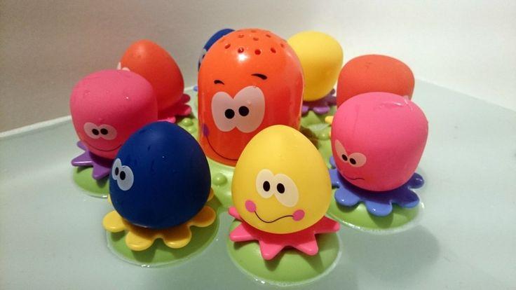 Zabawy w kąpieli - ośmiorniczki TOMY | Mama Bloguje