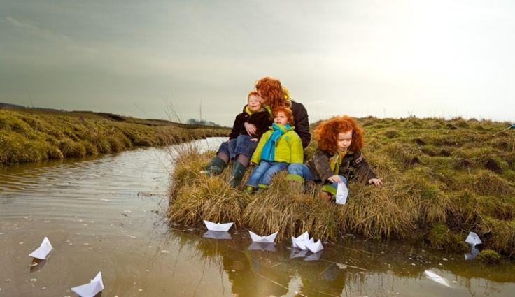 Hanne van der Woude, MC1R Natuurlijk rood haar, Nadja, David, Eva en  Noah