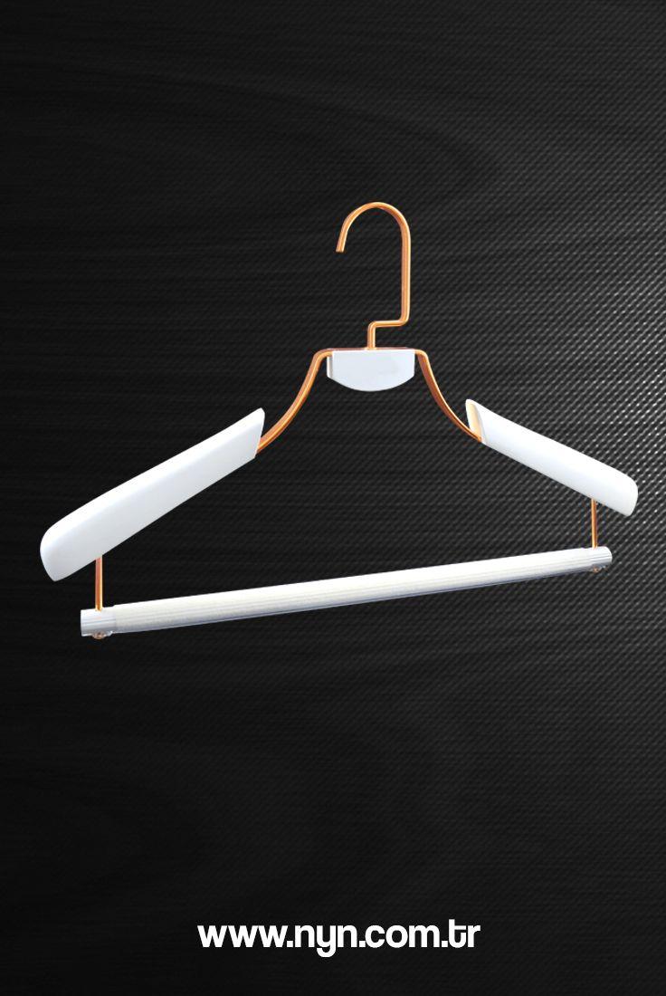 Luxury wooden jacket hanger