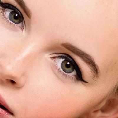 Make-up die je ogen groter maakt