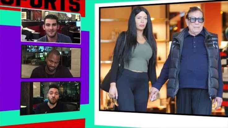Ex-Clippers Owner Donald Sterling Pimpin' Around Bev Hills with New Chic...