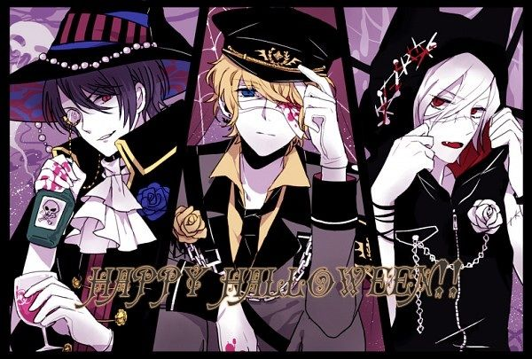 Diabolik Lovers Shuu | Halloween] Reiji, Shu, Subaru and their costumes - Diabolik Lovers ...