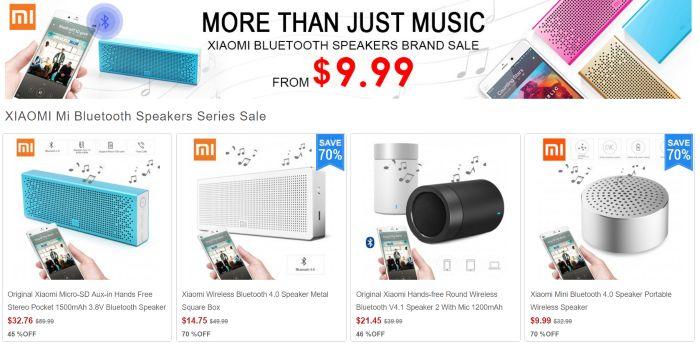 Xiaomi Mi Bluetooth Speaker Sale!  $9 Xiaomi Mini Or $32 Xiaomi Mi In 3 Colors! - Bluetooth Speaker News - Bluetooth Speaker Forum