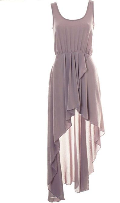 Chiffon Swallowtail Rray Street Dress - Sheinside.com