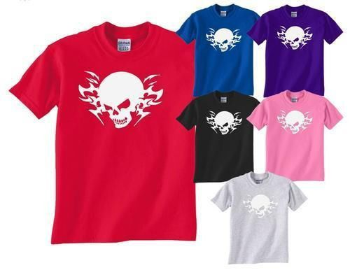 Skull Tattoo Gothic Unisex T-Shirt Gift More Size and Colors