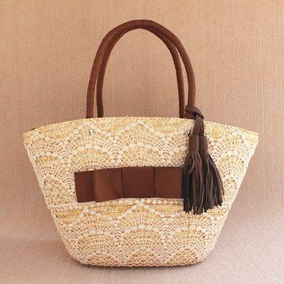 ☺☺☺ Saco de  palha doces boêmio praia  tecido de bagagens e malas -  /    ☺☺☺ Candy straw bag bohemian beach fabric luggage and bags -