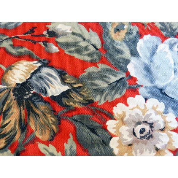 Tissu d 39 ameublement romanex de boussac fleuri vintage ancien textile et couture pinterest - Tissu ameublement vintage ...