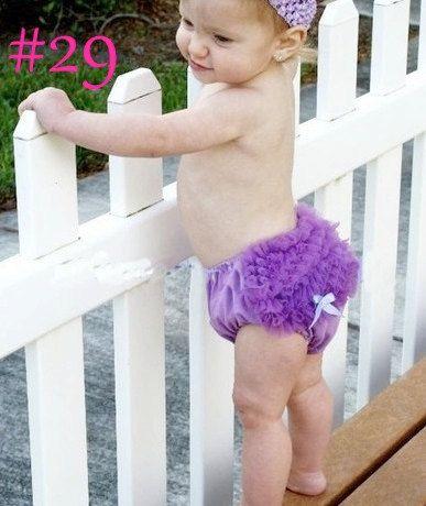Cute Princess Soft Purple Ruffled Bloomer Pants by fashionfixes4u, $10.95