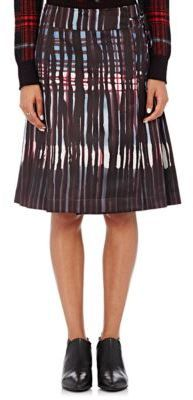 Tomas Maier Women's Matte Satin Wrap Skirt