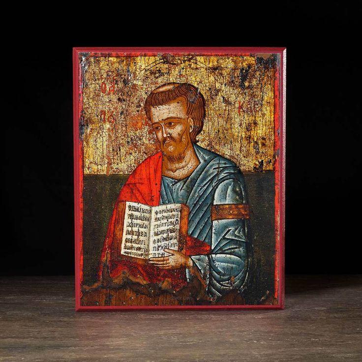 Apostle Luke the Evangelist Icon - S209 - Legacy Icons