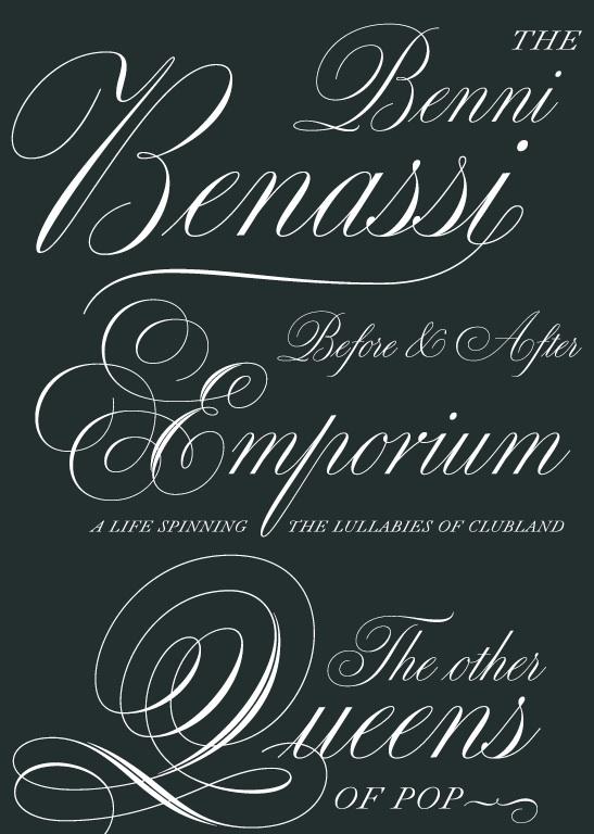 PAGE Online - Medusa heißt eine neue Schnörkelschrift von Ramiro Espinoza.