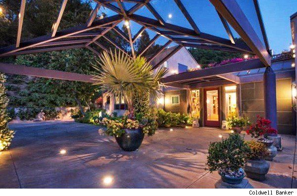 "This Bel-Air house was featured in ""Strangers When We Meet."" For more pictures and info  http://aol.it/LynEIN"