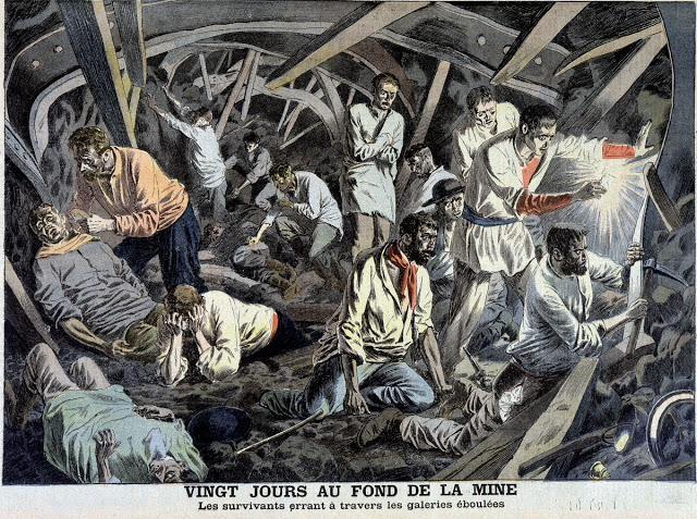 La catastrophe des mines de Courrières