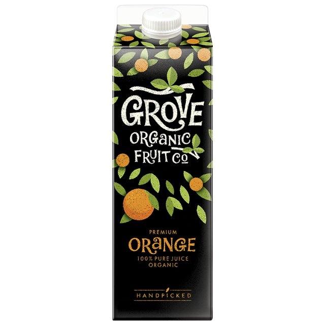 Grove Organic Fruit Co. Orange Juice at Ocado