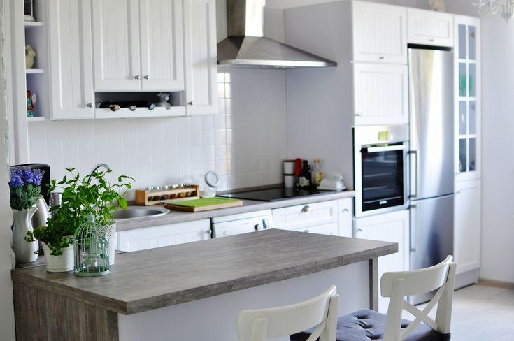 My home, my white kitchen Biała kuchnia prowansalska