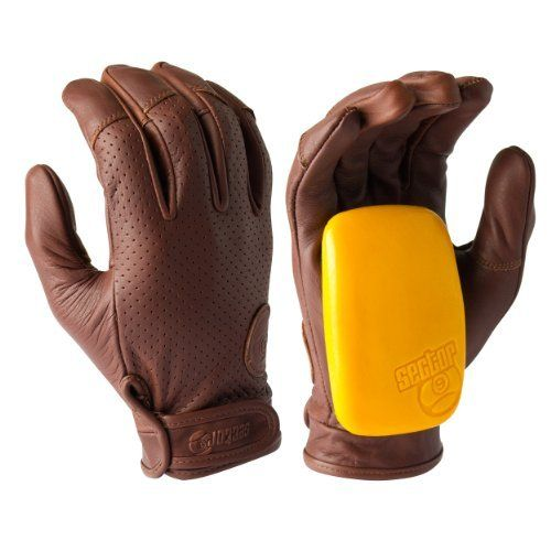 """Sector 9 Driver Slide Glove, Brown, Small/Medium by Sector 9. $50.00. From the Manufacturer                The story of the nineball starts in our La Jolla backyard in 1993. At the time our house consisted of a bunch of good friends, a half pipe, pool table, ping pong table and shaping room all just across the street from some nice smooth hills down to the reefs. One of our friends from Hawaii who used to call people """"nine balls"""" all the time in a friendly razzing s..."""