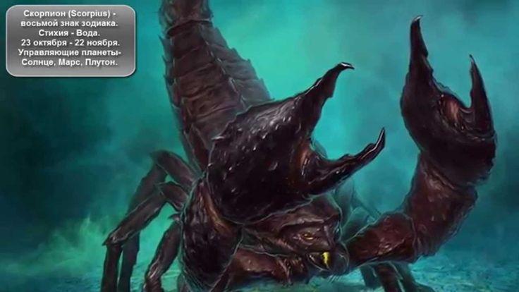Самый сильный знак зодиака - Знак зодиака Скорпион