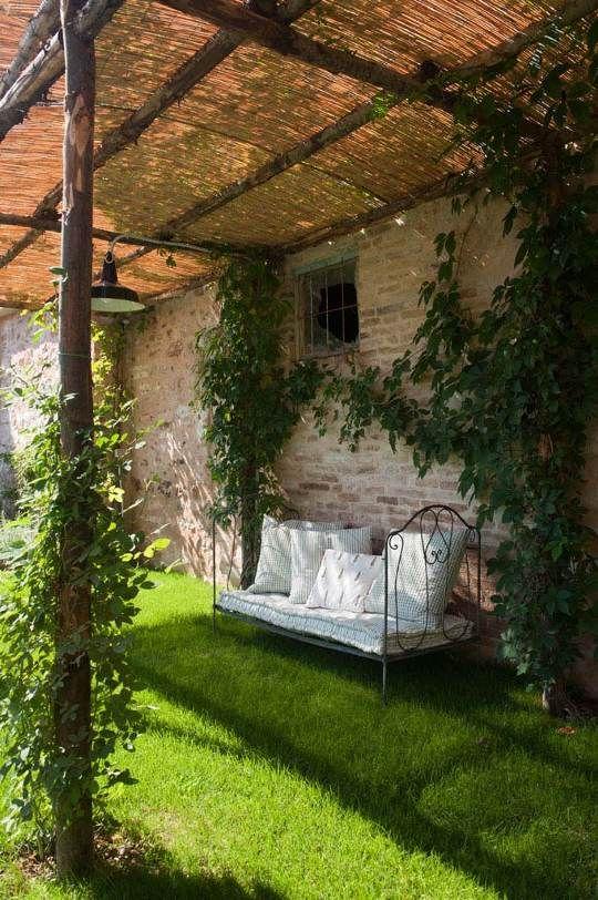 Mon cottage en italie: place au jardin