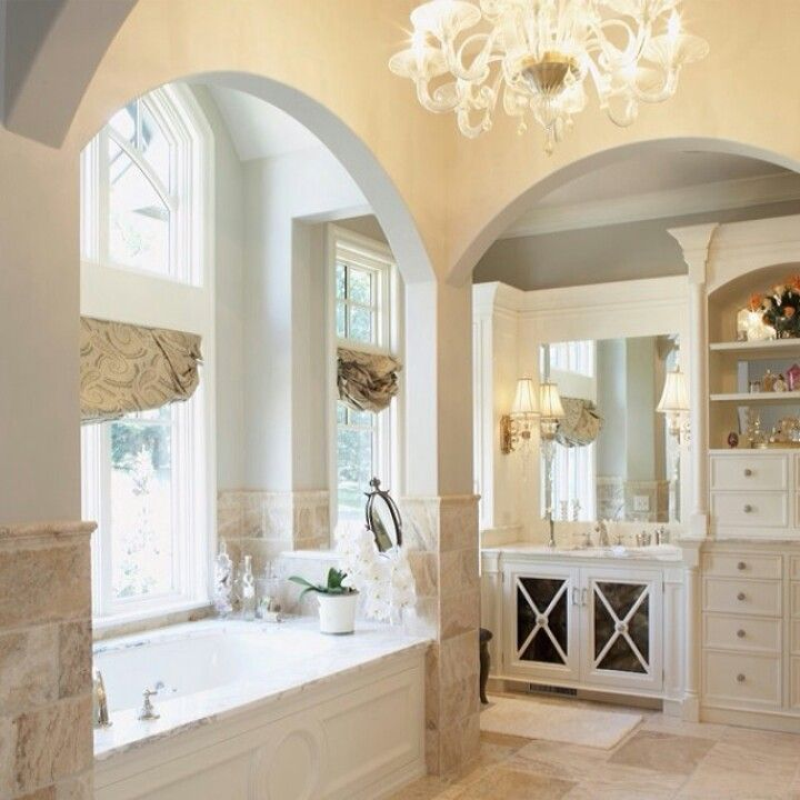 Half Tiled Bathroom Ideas Part - 49: Walls: Half Tile, Half Painted