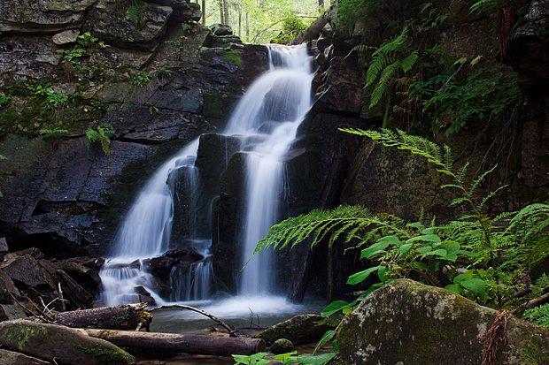 Beskidy  - Kaskady Rodła (Biała Wisełka) zdjęcia przyrody