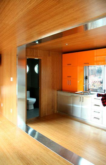 O luxo da constru o com container container interior - Shipping container bathroom design ...